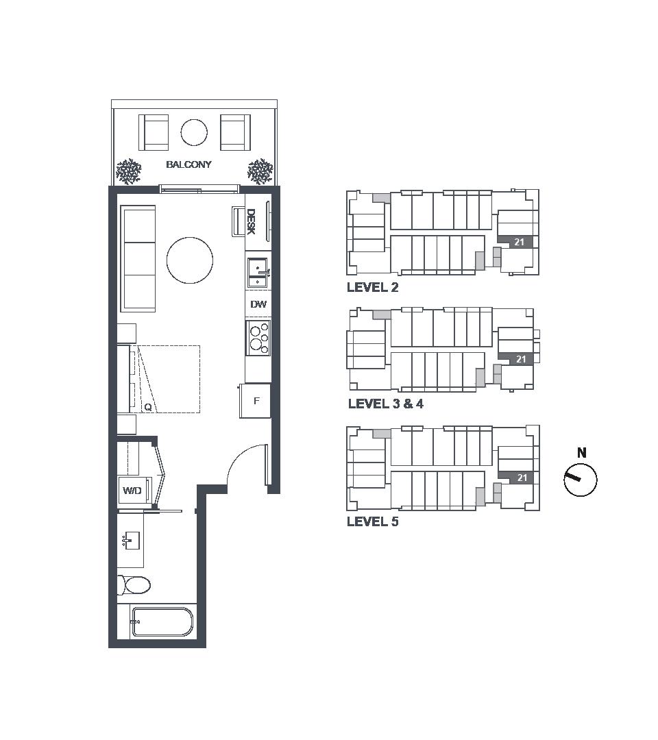 Verve Floorplans