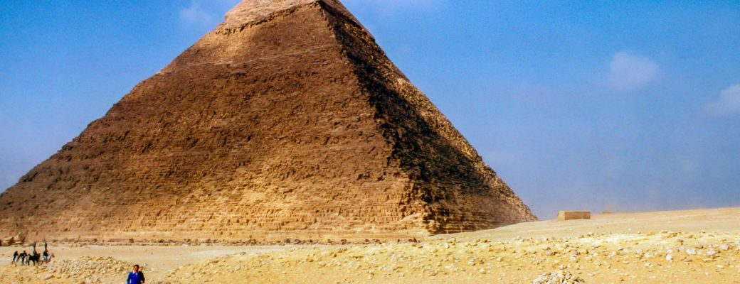 Travel Back In Time To The Pyramids Of Giza, Egypt