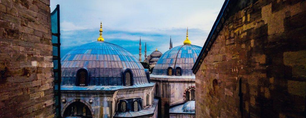 A Cultural Affair At The Hagia Sofia, In Turkey